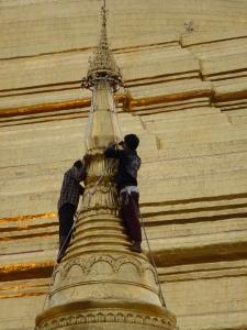 replacinggold, Shwedagon